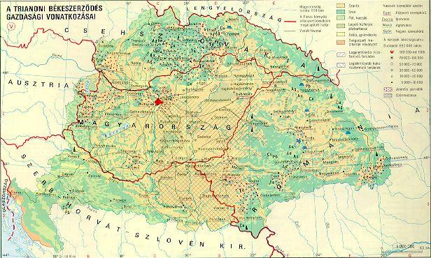 régi és új magyarország térkép HUNSOR   A Trianoni Gyászbéke évfordulóján régi és új magyarország térkép